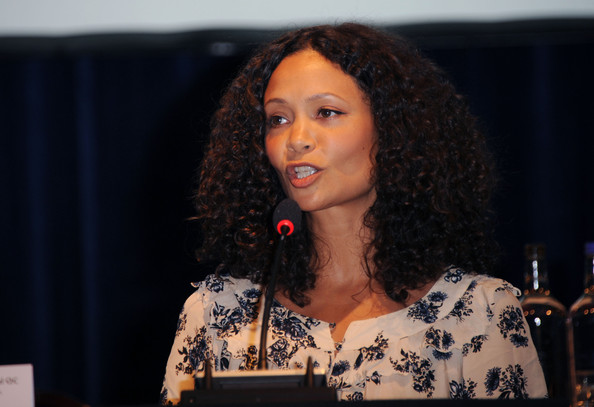 More Pics of Thandie Newton Long Curls (1 of 12) - Thandie Newton Lookbook - StyleBistro