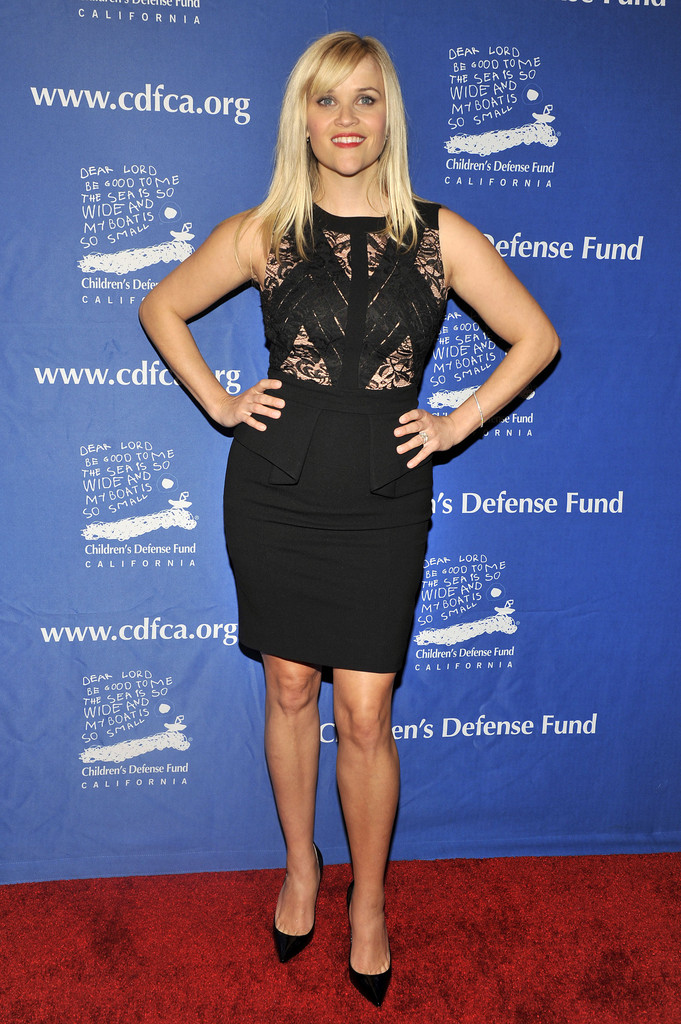 Reese Witherspoon Little Black Dress Reese Witherspoon
