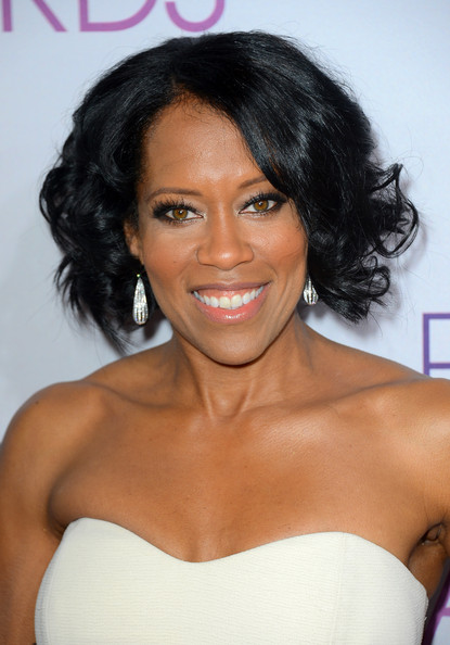 Regina King Dangling Diamond Earrings
