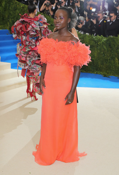 Lupita Nyong'o in Prada at the Met Gala