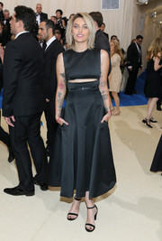 Paris Jackson opted for a simple yet trendy black cutout dress by Calvin Klein for her 2017 Met Gala look.