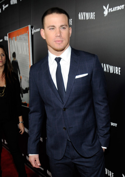 More Pics of Channing Tatum Men's Suit (11 of 43) - Channing Tatum Lookbook - StyleBistro