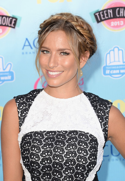 Renee Bargh Braided Updo