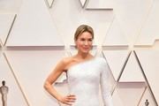 Renee Zellweger One Shoulder Dress