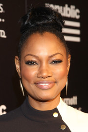 Garcelle Beauvais worked a trendy top knot at the Republic Records VMA after-party.