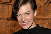 Actress Milla Jovovich attends the Restoration Hardware Spring 2012 Launch at Restoration Hardware on March 22, 2012 in Los Angeles, California.