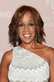 Gayle King sported a wavy bob at the 2018 Diamond Ball.