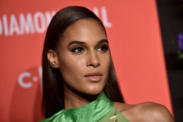 Cindy Bruna looked simply elegant with her straight, side-parted hairstyle at the 2019 Diamond Ball.