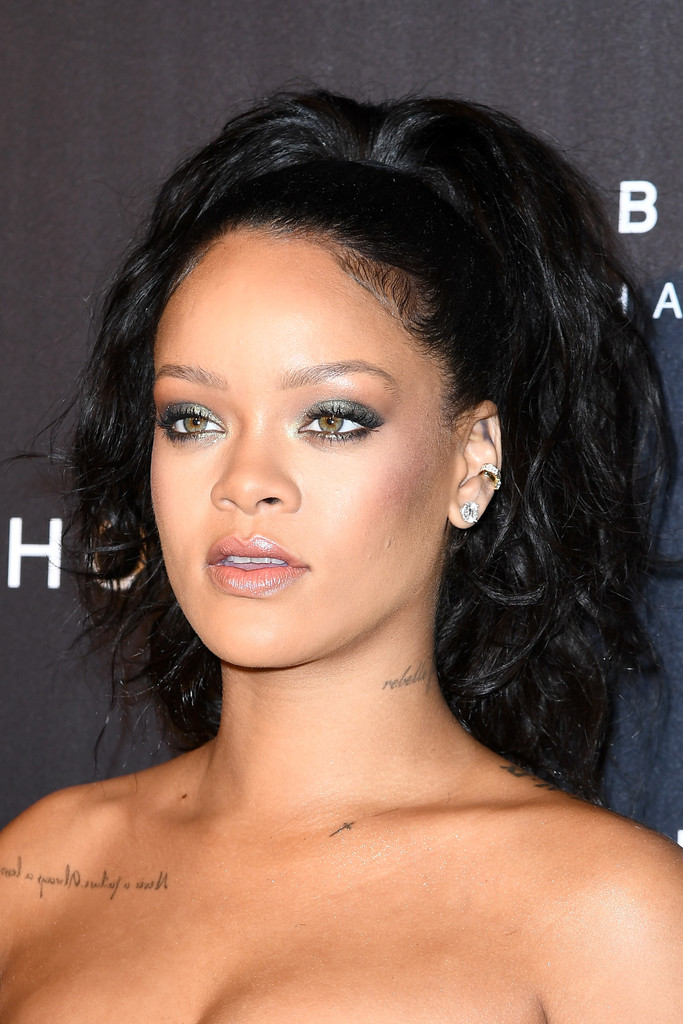 Rihanna Ponytail Newest Looks Stylebistro