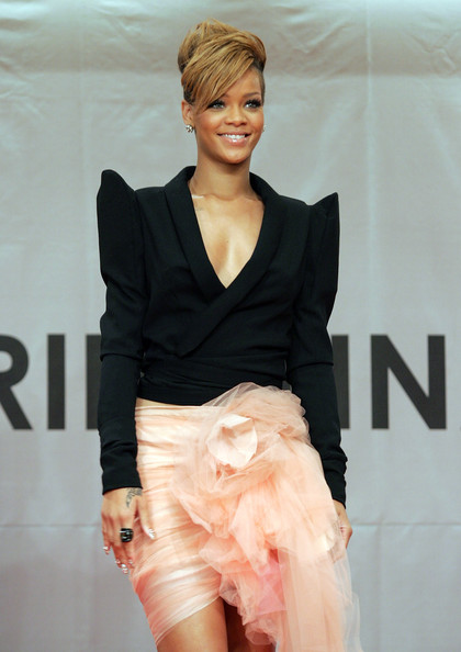 Rihanna Cropped Jacket