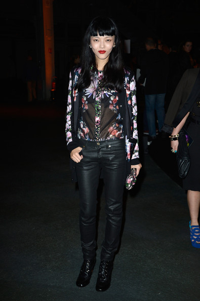 Rila Fukushima Leather Pants