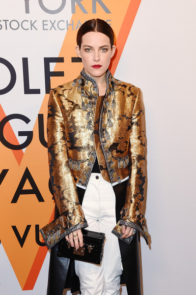 Riley Keough Box Clutch