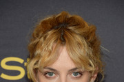 Riley Keough Messy Updo