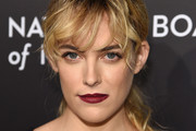Riley Keough Red Lipstick