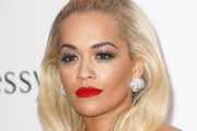 Rita Ora Half Up Half Down