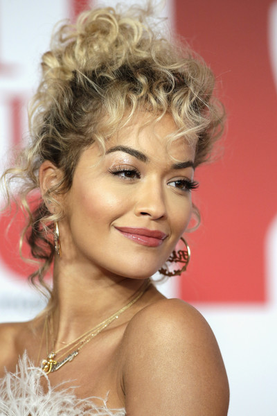 Rita Ora Pinned Up Ringlets