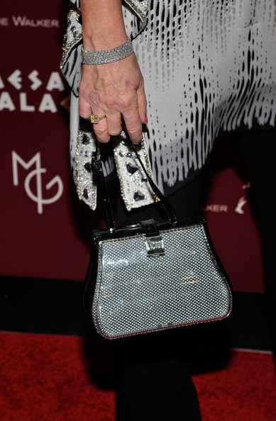 Rita Rudner Metallic Purse