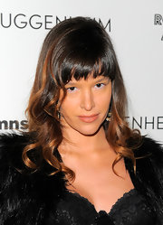Paz de la Huerta looked youthful and pretty with her soft waves and wispy bangs during Rob Pruitt's 2010 Art Awards.