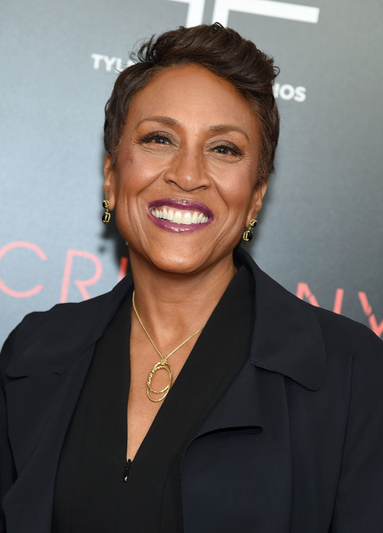 Robin Roberts Fauxhawk [hairstyle,forehead,premiere,smile,white-collar worker,official,robin roberts,acrimony,new york,premiere,new york premiere]