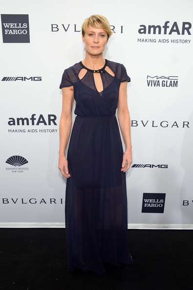 Robin Wright Cutout Dress