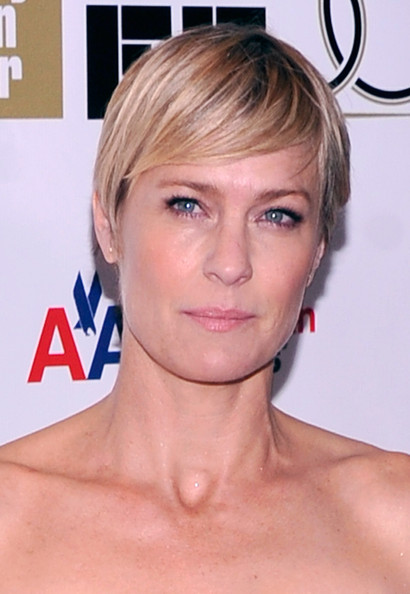 Robin Wright Short Cut With Bangs [the princess bride,face,hair,hairstyle,chin,eyebrow,blond,skin,forehead,lip,nose,robin wright,screening,alice tully hall,new york city,25th anniversary screening cast reunion,new york film festival,reunion]