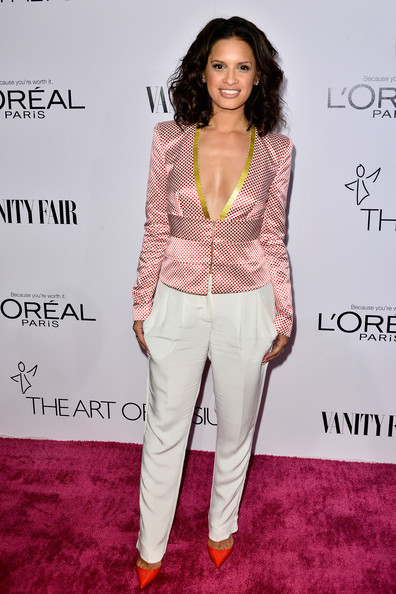 Rocsi Diaz Fitted Blouse