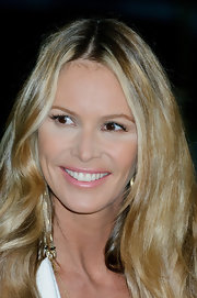 Elle MacPherson wore a shiny baby pink shade of lipstick at the 2012 Rodial Beautiful Awards.