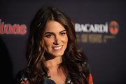 Nikki Reed wore her hair in long waves at the 'Rolling Stone' Bacardi Bash.