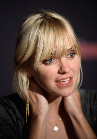 Anna Faris sported a bob with eye-grazing bangs at the Bacardi Bash: 150 Years of Rocking the Party.