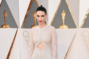 Rooney Mara Cutout Dress