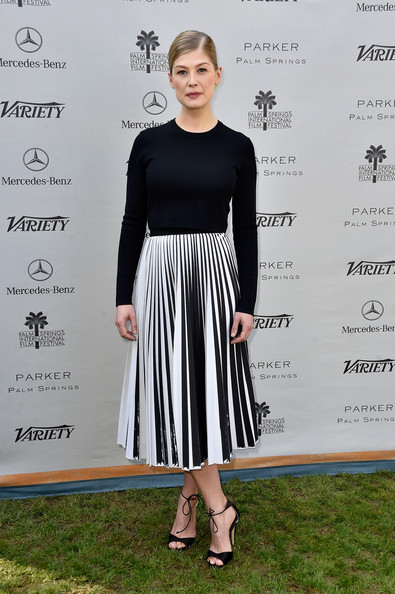 Rosamund Pike Crewneck Sweater