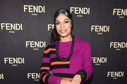 Rosario Dawson Beaded Purse