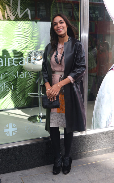 Rosario Dawson Ankle Boots