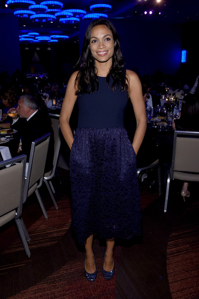 Rosario Dawson Evening Pumps