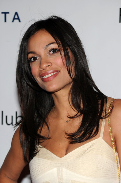 Rosario Dawson Long Straight Cut
