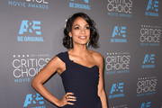 Rosario Dawson One Shoulder Dress