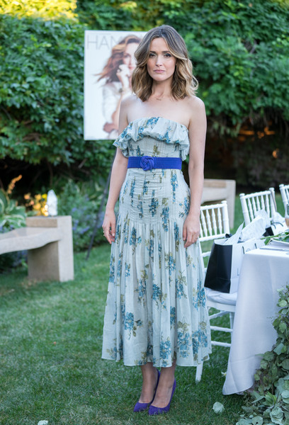 Rose Byrne Strapless Dress