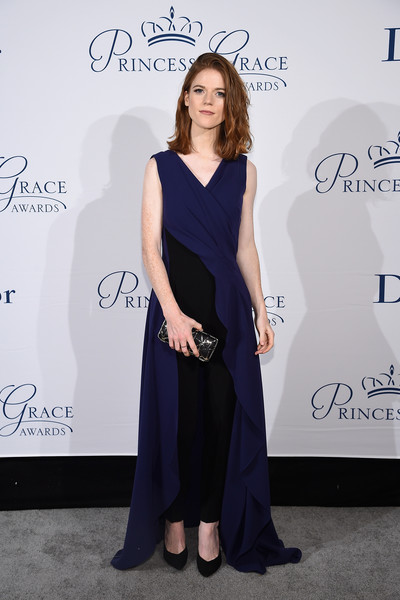 Rose Leslie Hard Case Clutch