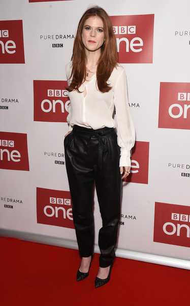 Rose Leslie Button Down Shirt