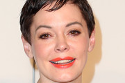 Rose McGowan Bright Lipstick