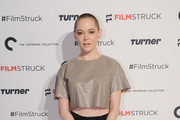 Rose McGowan Crop Top