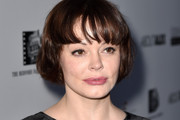 Rose McGowan Short cut with bangs