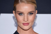 Rosie Huntington-Whiteley Diamond Hoops