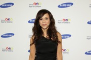 Rosie Perez One Shoulder Dress