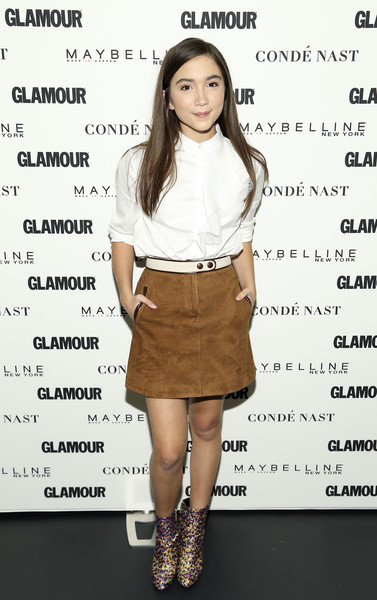 Rowan Blanchard Mini Skirt