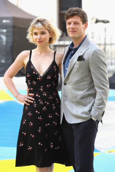 More Pics of Imogen Poots Sundress (1 of 2) - Imogen Poots Lookbook - StyleBistro [dress,yellow,fashion,formal wear,suit,design,cocktail dress,event,recreation,gesture,arrivals,james norton,imogen poots,london,england,burlington house,royal academy of arts summer exhibition preview,royal academy of arts summer exhibition preview party]