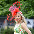 The bigger the fascinator, the closer you are to heaven