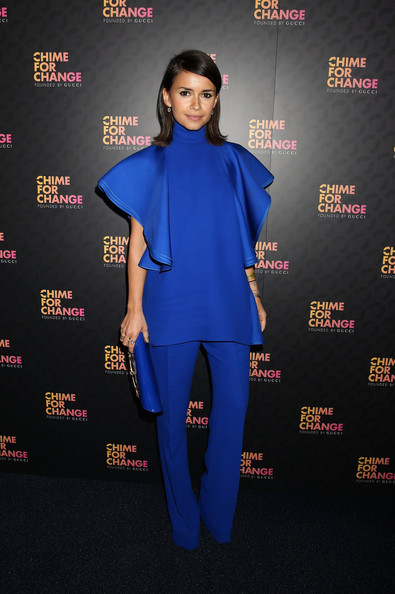 More Pics of Miroslava Duma Medium Straight Cut (1 of 11) - Medium Straight Cut Lookbook - StyleBistro