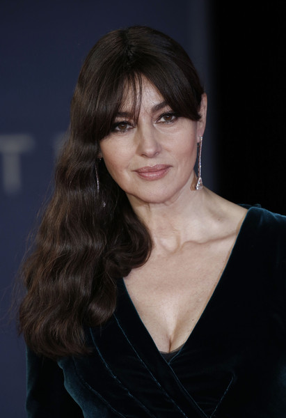 Monica Bellucci's Romantic Locks
