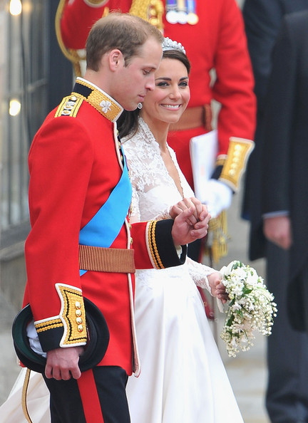 More Pics of Kate Middleton Wedding Dress (5 of 180) - Dresses & Skirts Lookbook - StyleBistro [tradition,event,ceremony,monarchy,uniform,costume,gesture,royal wedding arrivals,prince william,royal highnesses,marriage,duchess,second,line,throne,cambridge,london]